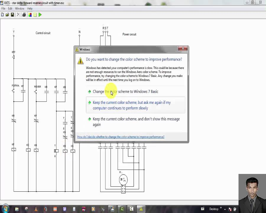 star delta control circuit diagram with timer pdf