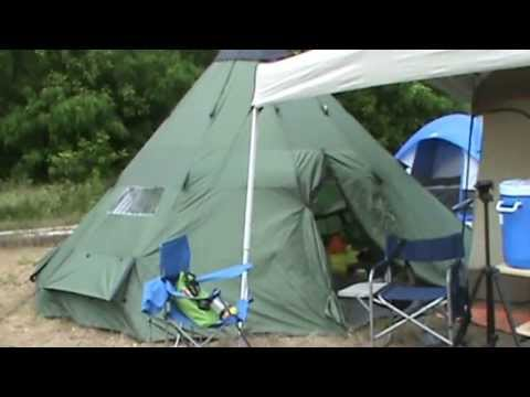 Sportsmanu0027s Guide Guide Gear Tee Pee review & Sportsmanu0027s Guide Guide Gear Tee Pee review - YouTube