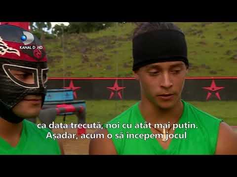 Exatlon Romania (12.02.2018) - A treia confruntare internationala: Romania VS Mexic! Ep 22, Partea 3