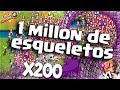 1 MILLON DE ESQUELETOS CLASH ROYALE [MEMOUNSTRO]