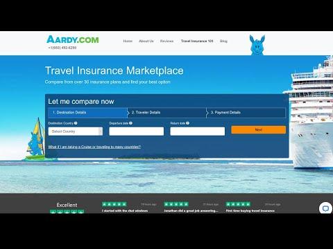 Trip Insurance Comparison - AardvarkCompare