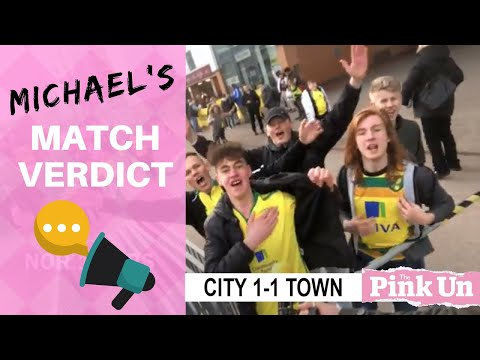 Norwich City 1-1 Ipswich Town | Michael Bailey video verdict with bonus OTBC