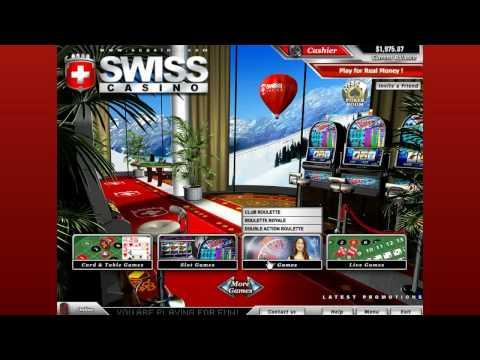 Video Swiss casino online seriös
