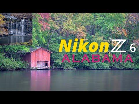 Nikon Z6 Landscape Photography in Alabama