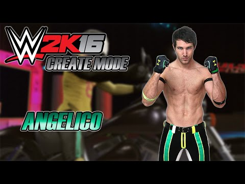 WWE 2K16 - Angelico Gameplay
