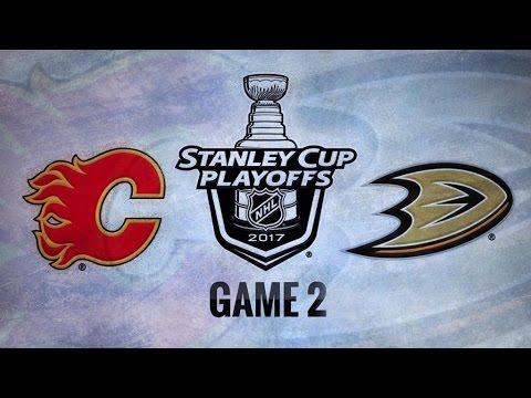 Calgary Flames Vs. Anaheim Ducks Game 2 | NHL Game Recap | April 15, 2017 | HD