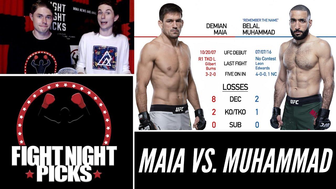Demian Maia vs. Belal Muhammad UFC 263 Odds, Pick ...
