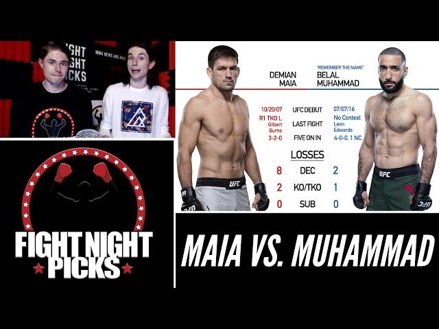 UFC 263: Demian Maia vs. Belal Muhammad Prediction