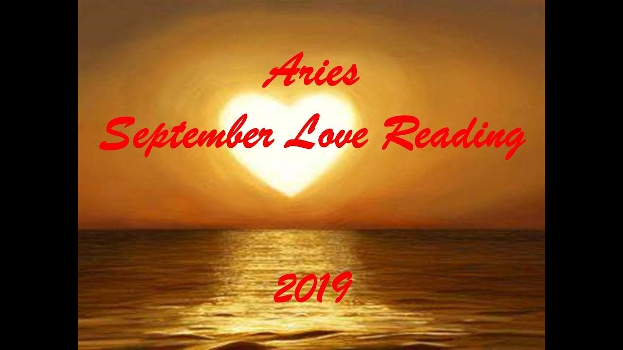 Aries September Love Reading 2019 - SOMEONE DOESNT WANT TO LET GO!