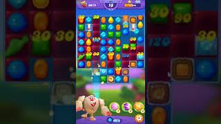 Candy Crush FRIENDS Saga level 257 no boosters