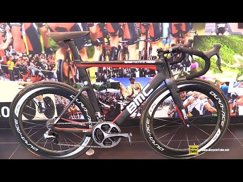 2016 BMC Time Machine TMR01 Road Bike - Walkaround - 2015 Eurobike