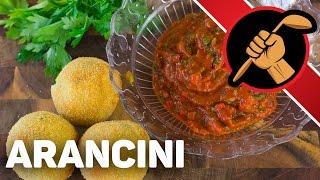 Аранчини - Arancini de riso Сицилийская кухня
