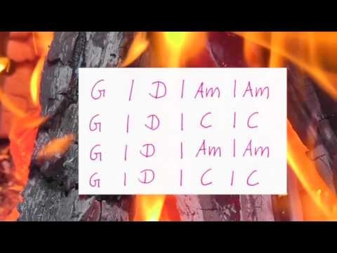 Knockin on Heavens Door -Bob Dylan - Lyrics and Chords - Campfire Version - Musikschach