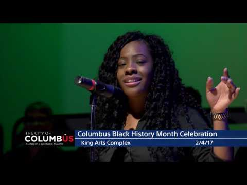 City of Columbus Black History Month Celebration 2017