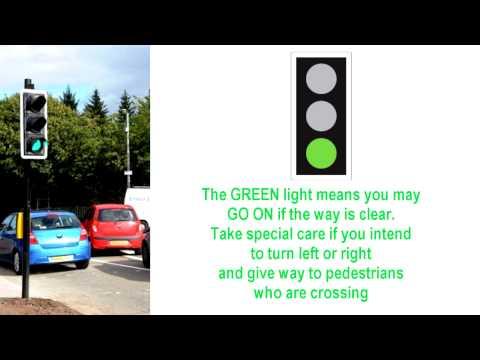 Traffic Light Signals UK Highway Code