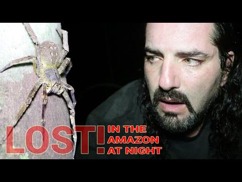 PERUVIAN AMAZON, Day 3: LOST IN THE AMAZON AT NIGHT! - Dāv Kaufman