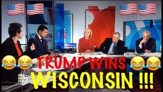 Trump wins Wisconsin! *** Top 5 *** MOST enjoyable MSM reactions
