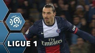 Zlatan IBRAHIMOVIC marque un coup-franc ENORME - PSG-Lille (2-2) - 22/12/13 (PSG-LOSC)