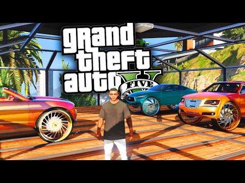 Rooftop Garage is Back! - GTA 5 Real Hood Life 2 - Day 3