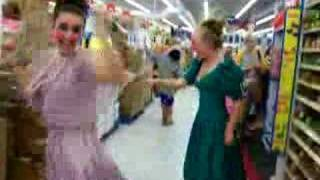 Little Red Wagon-walmart Dancers