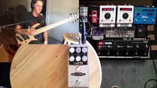 origin effects cali76 compact bass compressor demo review featuring dingwall abz 6 string