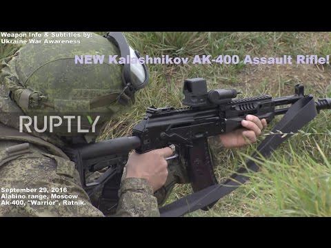 First Footage of Ak-400 tested & fired by Russian Troops.