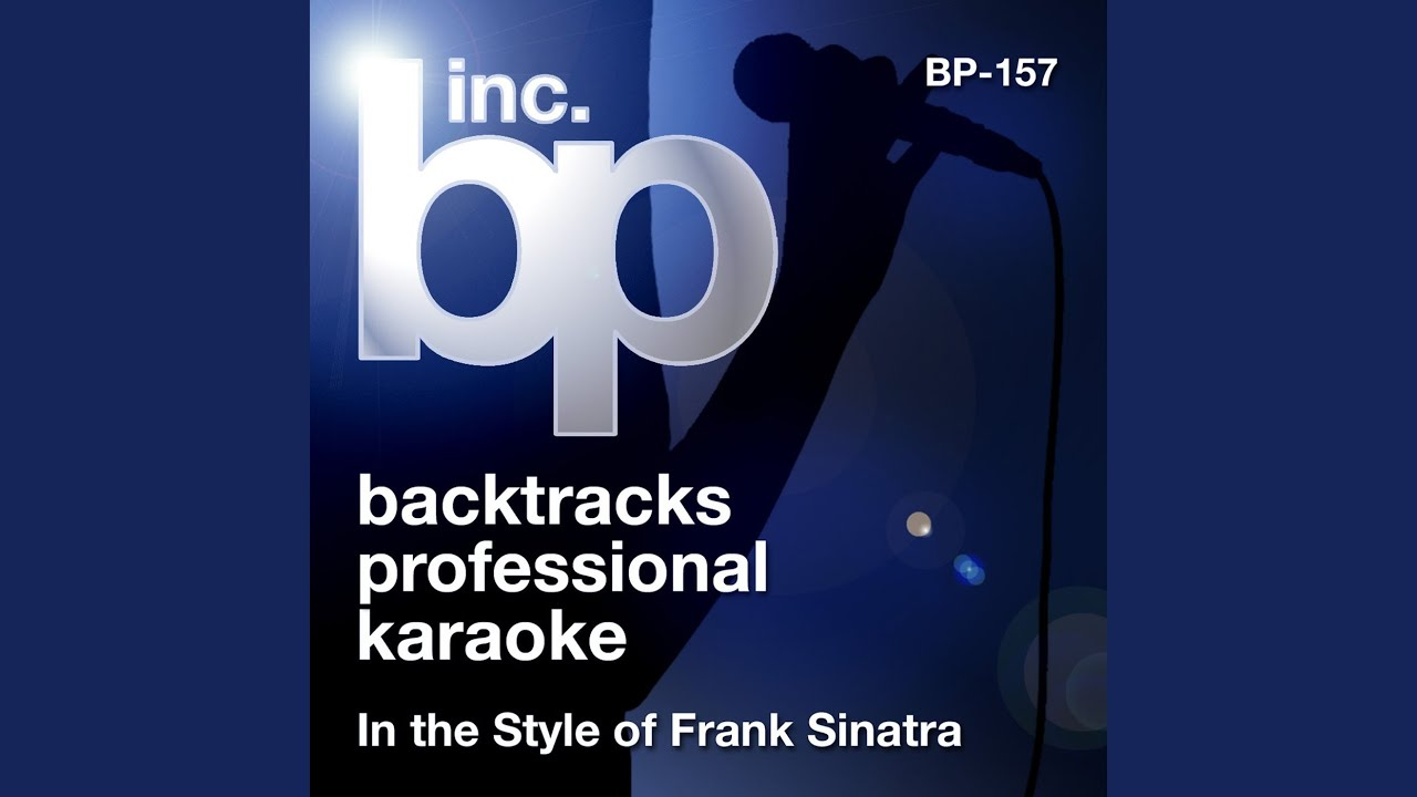 karaoke instrumental track in the style of frank sinatra and bing crosby