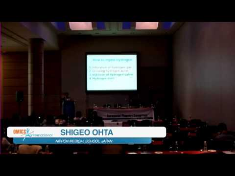Molecular Hydrogen | Prof. Shigeo Ohta, 2015 - European Pharma Congress