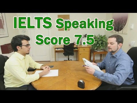 IELTS Speaking Example