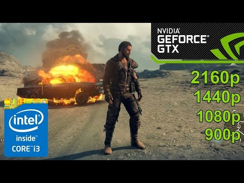 Mad Max GamePlay [PC] in NVIDIA GeForce GTX 1050 / 4K ( 3840x2160 ) NEW!