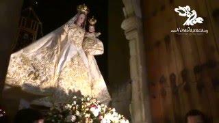 Procesión 2015 de la Virgen del Rosario, Ciudad de Oaxaca