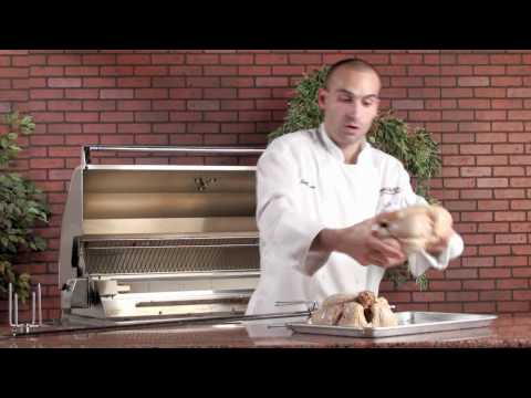 How To Use A Rotisserie Kit - By BBQGuys.com
