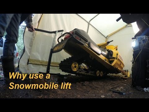 Why Use A Snowmobile Lift S2e 7 Youtube