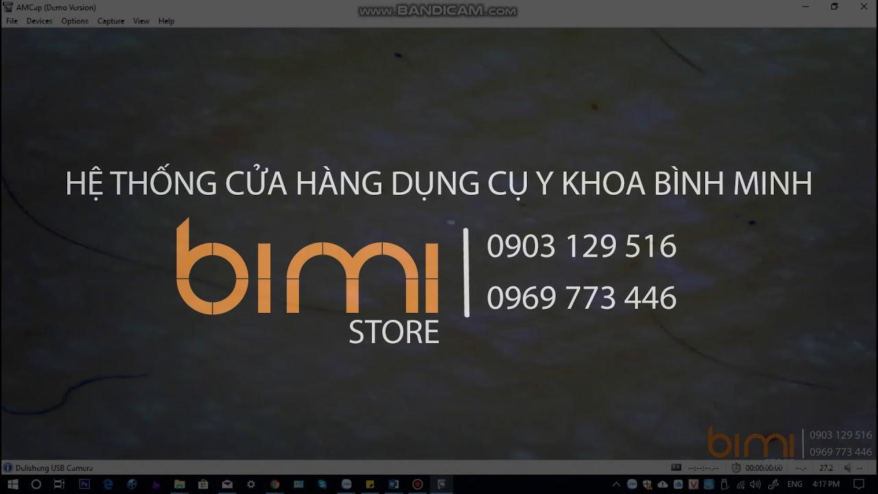 [Bimi Store] Cách cài đặt phần mềm  cho máy soi da