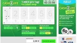 Cash4Life online spielen - gewinne 1000€ pro Tag ein Leben lang