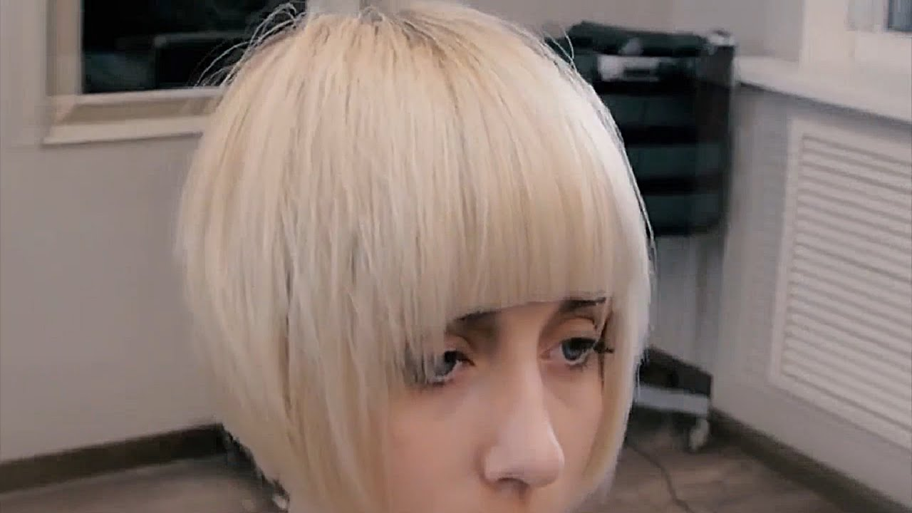 women's short haircuts 2016 || short neck || pops transition2 | russian hairdressing