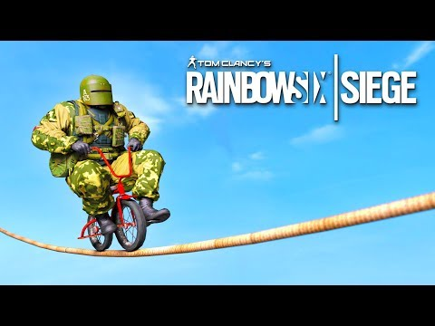 RAINBOW SIX SIEGE FAILS: #24 (Rainbow Six Siege Random Moments Compilation)