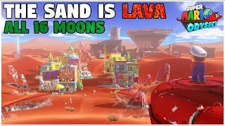 Video Completing Sand Kingdom Without Touching Sand (Super Mario Odyssey Challenge) download MP3, 3GP, MP4, WEBM, AVI, FLV Oktober 2018