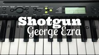 Shotgun - George Ezra | Easy Keyboard Tutorial With Notes Video