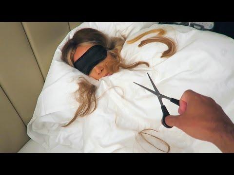 I CUT HER HAIR!!