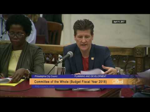 FY2018 Philadelphia City Council Budget Hearing 4-11-2017 Full Day