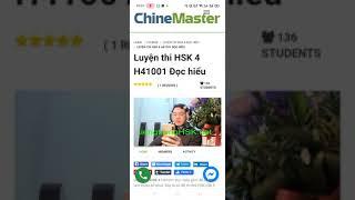 Hướng dẫn Thi HSK online trên điện thoại [TIENGTRUNGHSK]