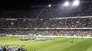 Download Video Betis-Milán. ¡¡¡IMPRESIONANTE Espectáculo de luces!!!. Dia 08--11-18 MP3 3GP MP4