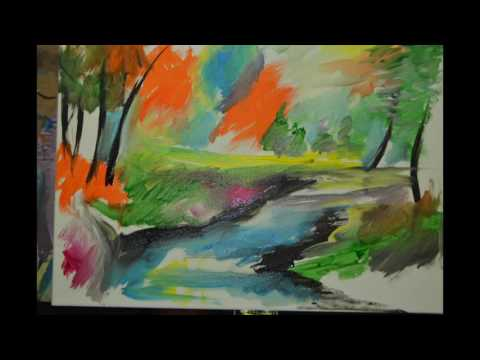 Creative Art Connection - Step by Step Landscape Painting