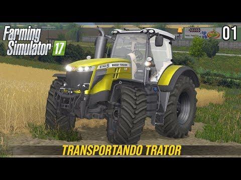ENTREGANDO TRATOR NA FAZENDA | Farming Simulator 17 | Baldeykino | 2ª Temporada - Episódio 1 thumbnail