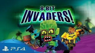 8-Bit Invaders! | Gameplay Trailer | PS4