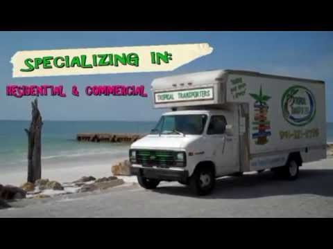 "Sarasota Mover in Sarasota, FL.  Tropical Transporters ""Making Your Move A Breeze"""