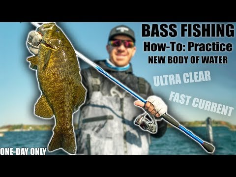 Fishing Insanely CLEAR Water for BIG Bass (Breaking Down a Fishery)