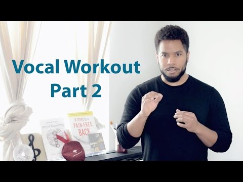 "Vocal Workout - Part 2 ""Voice Strengthening"""
