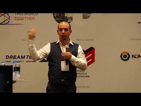 Alex Linebrink at B Conference Abu Dhabi 2017
